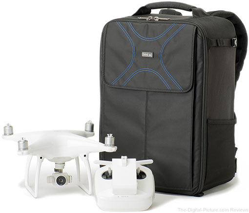Airport Helipak V2.0 Backpack Upgraded to Fit the DJI Phantom 4 and Accessories