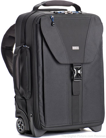 Think Tank Photo Airport TakeOff V2.0 Rolling Backpack is 15% Lighter