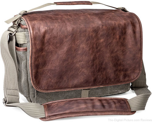 Think Tank Photo Retrospective 30 Shoulder Bag (Gray with Brown Leather) - $194.75 Shipped (Reg. $259.75)