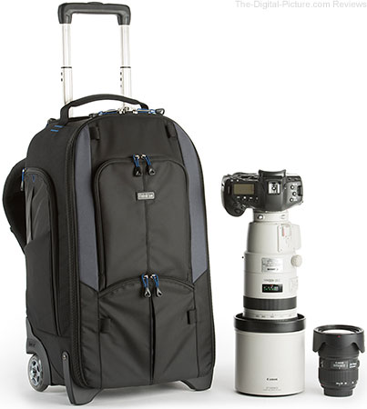 Think Tank Photo Releases New StreetWalker Rolling Photo Backpack and Upgrades Classic StreetWalker Series Backpacks