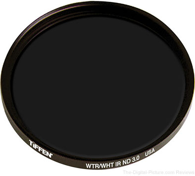 Tiffen IRND 3.0 10-Stop Neutral Density Filter [77mm] - $69.00 Shipped (Reg. $102.00)