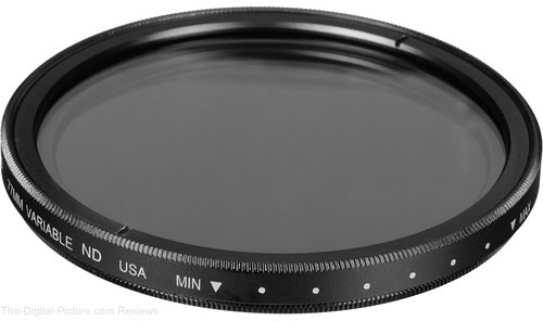 Tiffen 77mm and 82mm Variable Neutral Density Filters on Sale at B&H