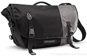 Timbuk2 Snoop Messenger Bag Medium (Black/Gunmetal)