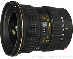 Tokina 11-16mm F/2.8 ATX Pro DX II Lens – $599.00 after $40.00 MIR