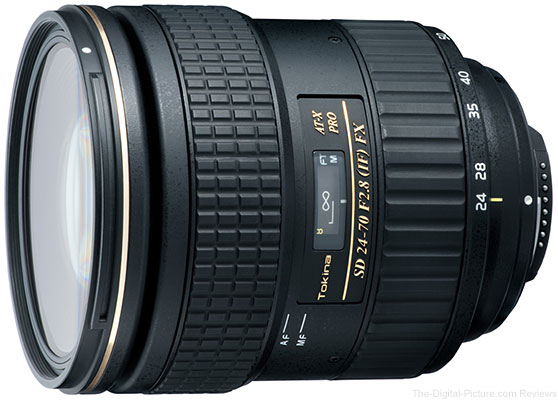 Tokina Announces 24-70mm f/2.8 FX Lens