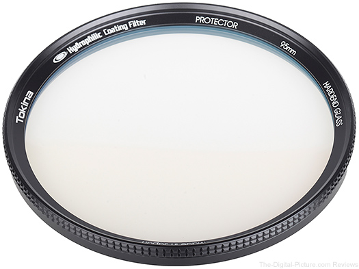 Tokina Protector Filter with Hydrophilic Coating