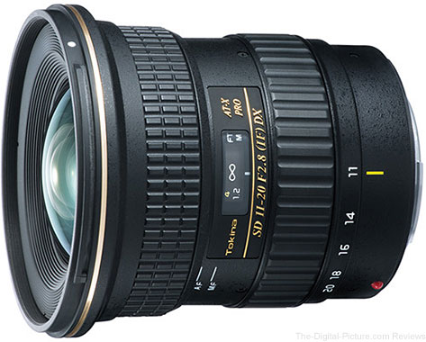 Tokina AT-X 11-20mm f/2.8 PRO DX Lens - $424.00 Shipped (Reg. $599.00)