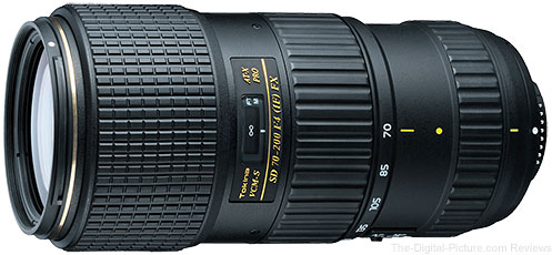 Tokina AT-X 70-200mm f/4 PRO FX VCM-S Lens for Nikon Available for Preorder at B&H