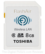 Toshiba 8GB FlashAir Wireless SD Card - $28.99 Shipped (Reg. $34.99)