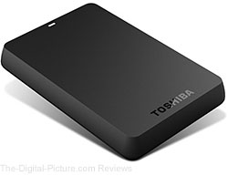 Toshiba Canvio 1.0 TB USB 3.0 Basics Portable Hard Drive - $59.99 (Compare at $78.00)