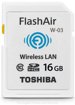Toshiba Announces FlashAir III Wireless SD Cards