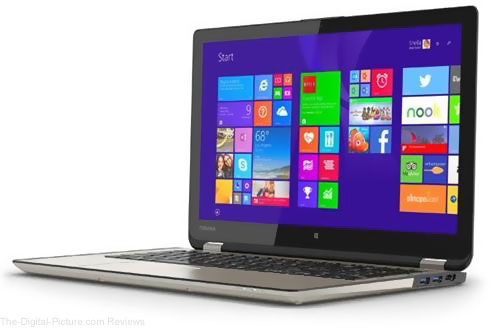 "Toshiba Satellite Radius 15.6"" 2-in-1 Touchscreen Notebook Computer - $699.99 Shipped (Reg. $799.99)"