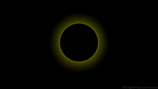 Total Solar Eclipse Mock-up