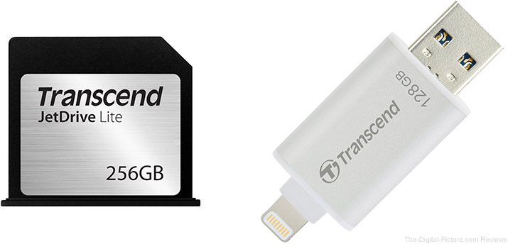 Amazon Gold Box Deal of the Day: Transcend JetDrive Products