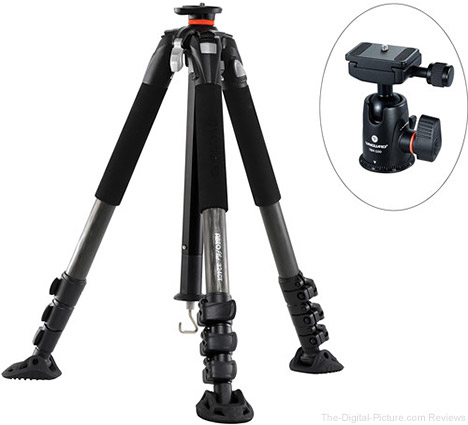 Vanguard Abeo Plus 324CT Carbon Fiber Tripod with TBH-100 Ball Head - $299.99 Shipped (Reg. $539.99)