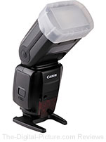 Vello Bounce Dome Diffuser for Canon Speedlite 600EX-RT