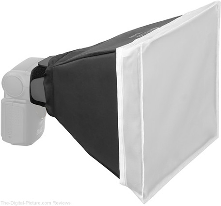 "Vello FlexFrame Softbox for Portable Flash (8 x 12"") - $19.95 Shipped (Reg. $39.95)"