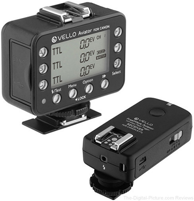 Vello FreeWave Aviator Transceiver & Receiver Kit for Canon - $149.90 Shipped (Reg. $309.90)