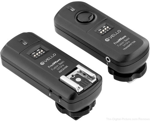 Vello FreeWave Fusion Basic Wireless Trigger System - $34.36 (Reg. $42.95)