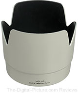 White Vello Lens Hoods In Stock at B&H