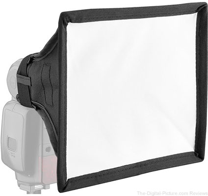 "Vello Softbox for Portable Flash (Small, 6 x 6.75"") - $14.95 Shipped (Reg. $29.95)"
