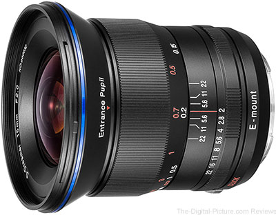 Venus Optics Announces the Laowa 15mm f/2 FE Zero-D for Sony Full Frame E-mount Cameras