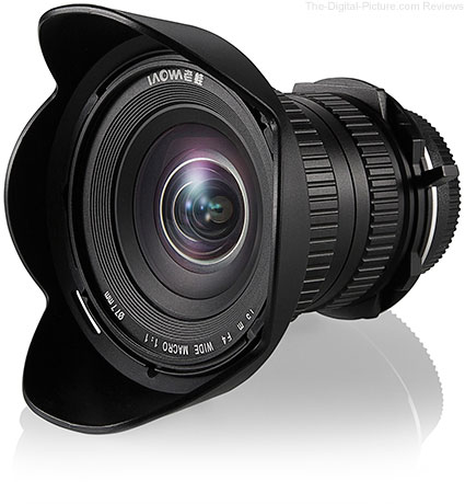 Venus Announces Laowa 15mm f/4, the World's Widest Angle Macro Lens