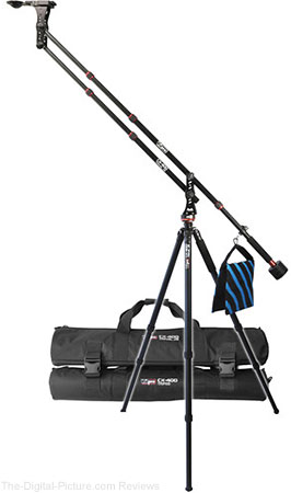 Vidpro CX-400 Travel Jib with Locking Pan Module & Tripod Legs