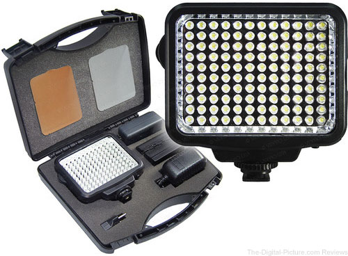Vidpro K-120 On-Camera LED Video Light Kit - $44.95 Shipped (Reg. $74.95)