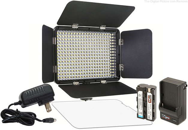 Vidpro LED-330X Variable-Color On-Camera LED Video Light Kit - $59.00 Shipped (Reg. $89.00)