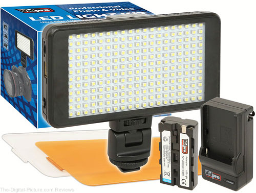 Vidpro Ultra-Slim LED-230 On-Camera Video Lighting Kit - $39.95 Shipped (Reg. $69.95)