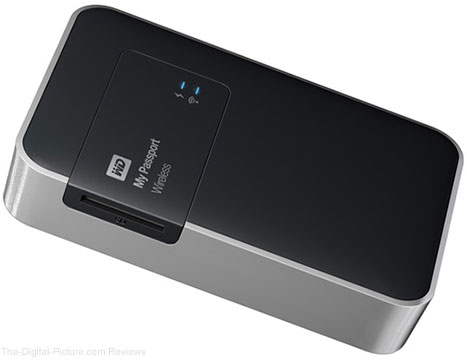 WD Announces My Passport Wireless External Hard Drive