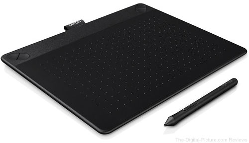 Wacom Intuos Art Pen & Touch Medium Tablet (Black)