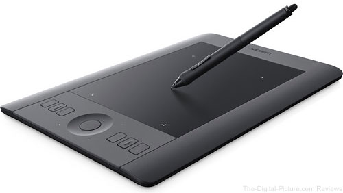 Wacom Intuos Pro Professional Pen & Touch Tablet (Small) - $199.95 Shipped (Reg. $249.95)