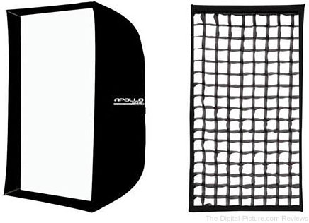 "Westcott 16x30"" Apollo Strip with Removable Front Diffusion Panel & Fabric Grid - $99.90 Shipped (Reg. $179.80)"