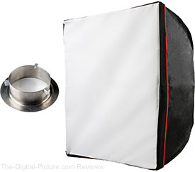 "Westcott 24x24"" Soft Box with Bowens S-Type Adapter - $29.95 Shipped (Reg. $89.95)"