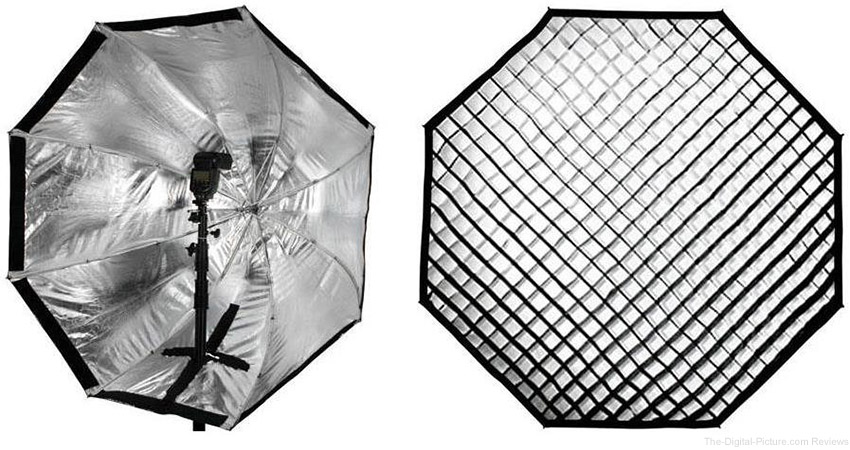 "Westcott 43"" Apollo Orb with Free 40-Degree Egg Crate Grid - $99.90 Shipped (Reg. $199.80)"