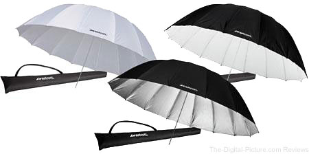 Westcott 7' Parabolic (3) Umbrella Bundle