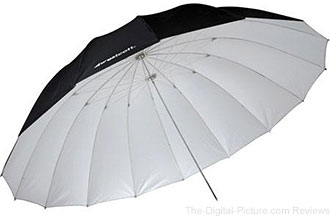 Westcott 7' White Parabolic Umbrella