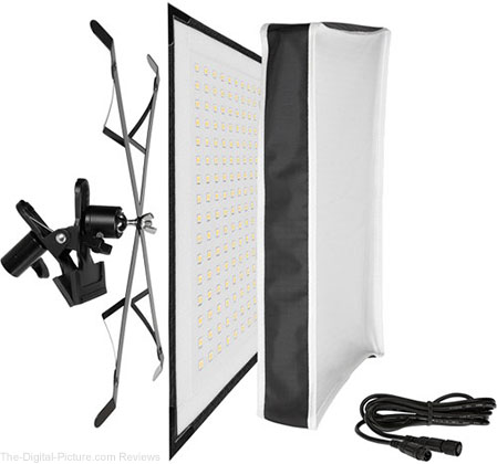 Westcott Flex X-Bracket Daylight LED Mat Set (1 x 1') - $389.95 Shipped (Compare at $699.95)