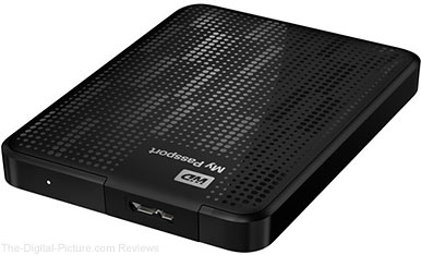 Western Digital My Passport 2 TB Portable Hard Drive - $89.99 Shipped (Compare at $119.00)