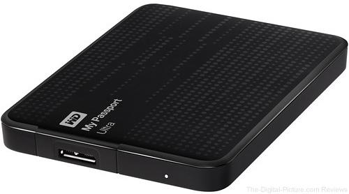 Western Digital My Passport Ultra Portable Hard Drive