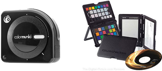 X-Rite ColorMunki Photo & ColorChecker Passport