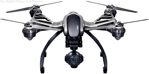 YUNEEC Q500 4K Typhoon Quadcopter with CGO3 Camera, SteadyGrip, and Camera Aluminum Case - $499.95 Shipped (Reg. $899.95)
