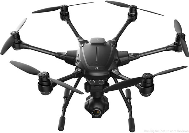 YUNEEC Typhoon H Hexacopter with Intel RealSense, GCO3+ 4K Camera, and Backpack - $1,499.99 Shipped (Reg. $1,899.99)