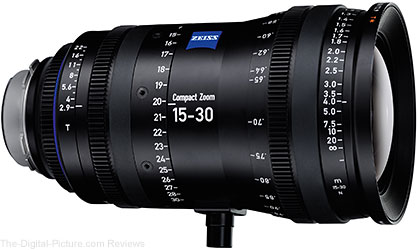 ZEISS Announces Compact Zoom CZ.2 15-30/T2.9