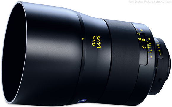 ZEISS Otus 85mm f/1.4 Announced
