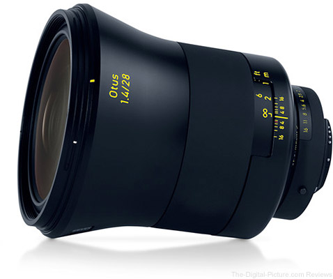 Zeiss Otus 28mm f/1.4 ZE for Canon In Stock at B&H