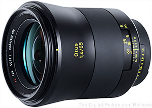 Zeiss Otus 55mm f/1.4 Lens Available for Preorder