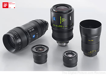 Carl Zeiss Wins Five iF 2013 Product Design Awards
